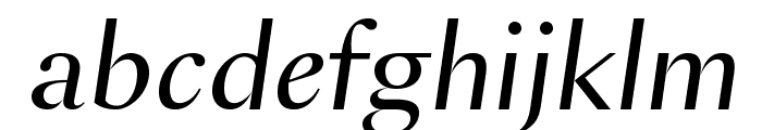 SangBleuSans RegularItalic WebXL Font LOWERCASE