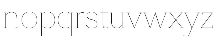 SangBleuSerif Hairline WebXL Font LOWERCASE