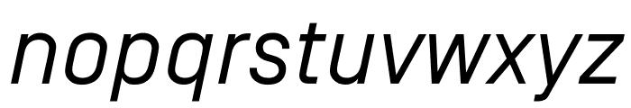 SimplonNorm RegularItalic WebXL Font LOWERCASE