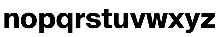 SuisseIntl Bold WebXL Font LOWERCASE