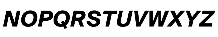SuisseIntl BoldItalic WebXL Font UPPERCASE