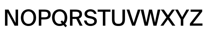 SuisseIntl Book WebXL Font UPPERCASE