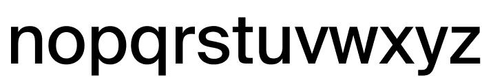 SuisseIntl Book WebXL Font LOWERCASE