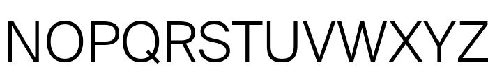 SuisseIntl Light WebXL Font UPPERCASE