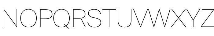 SuisseIntl Ultralight WebXL Font UPPERCASE
