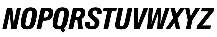 SuisseIntlCond BoldItalic WebXL Font UPPERCASE