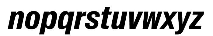 SuisseIntlCond BoldItalic WebXL Font LOWERCASE