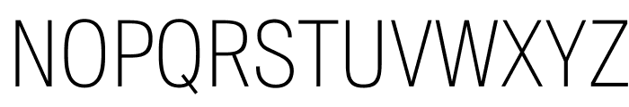 SuisseIntlCond Thin WebXL Font UPPERCASE