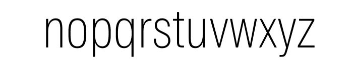 SuisseIntlCond Thin WebXL Font LOWERCASE
