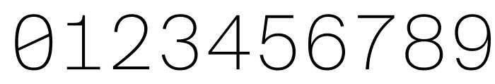 SuisseIntlMono Thin WebXL Font OTHER CHARS