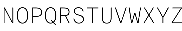 SuisseIntlMono Thin WebXL Font UPPERCASE