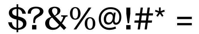 SuisseNeue Medium WebXL Font OTHER CHARS
