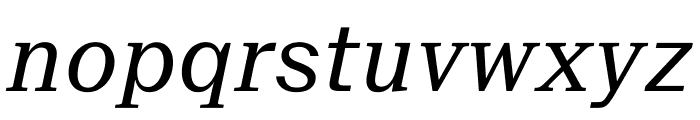 SuisseNeue RegularItalic WebXL Font LOWERCASE