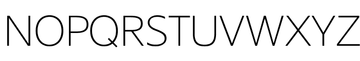SuisseSign Thin WebXL Font UPPERCASE