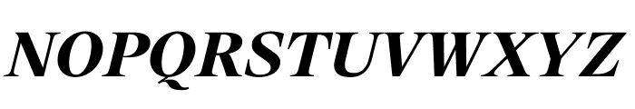 SuisseWorks BoldItalic WebXL Font UPPERCASE