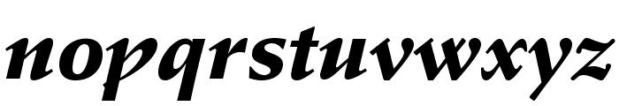 StempelSchneidlerStd-BlkIt Font LOWERCASE