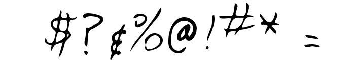 Stephen Regular Font OTHER CHARS