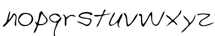Stephen Regular Font LOWERCASE