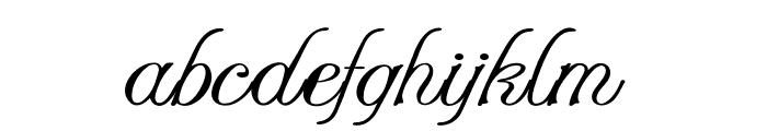 Stylique-ExpandedRegular Font LOWERCASE