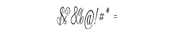 Stylique-ExtracondensedRegular Font OTHER CHARS