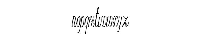 Stylique-ExtracondensedRegular Font LOWERCASE