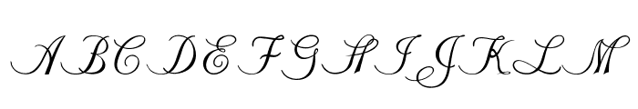 Stylique Font UPPERCASE