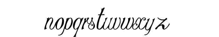 Stylique Font LOWERCASE
