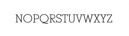 Stymie Light Font UPPERCASE