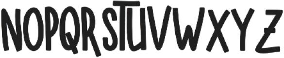 SUGAR VANILA BALCK otf (900) Font LOWERCASE