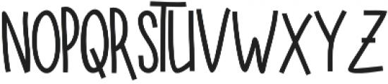 SUGAR VANILA BOLD otf (700) Font UPPERCASE
