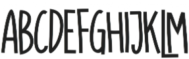 SUGAR VANILA BOLD otf (700) Font LOWERCASE
