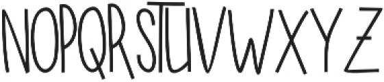 SUGAR VANILA REGULAR otf (400) Font UPPERCASE