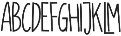 SUGAR VANILA REGULAR otf (400) Font LOWERCASE