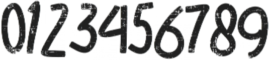 SUGAR VANILA ROUGH otf (400) Font OTHER CHARS