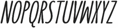 SUNN Pro otf (700) Font UPPERCASE