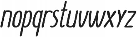 SUNN Pro otf (700) Font LOWERCASE