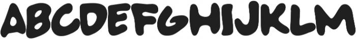 SUPER BAD FONT otf (400) Font UPPERCASE
