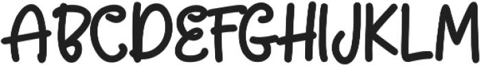 SUPER GIRLS otf (400) Font UPPERCASE