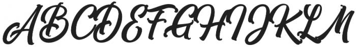 Subletter otf (400) Font UPPERCASE