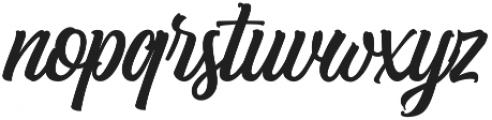 Subletter otf (400) Font LOWERCASE