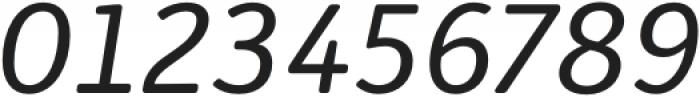 Submariner R24 Italic otf (400) Font OTHER CHARS