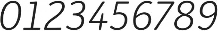 Submariner R24 Light Italic otf (300) Font OTHER CHARS
