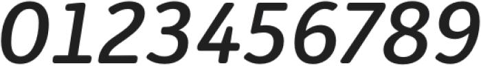 Submariner R24 Medium Italic otf (500) Font OTHER CHARS