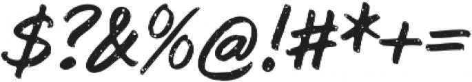 Subroc Regular otf (400) Font OTHER CHARS