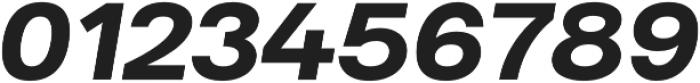 Substance ExtraBold Italic otf (700) Font OTHER CHARS