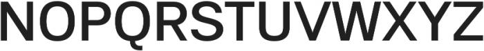 Substance Medium otf (500) Font UPPERCASE