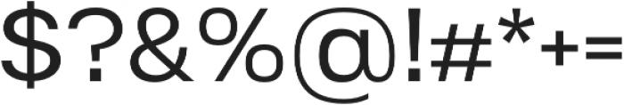Substance otf (400) Font OTHER CHARS