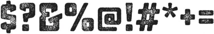 Sucrose Bold Three otf (700) Font OTHER CHARS