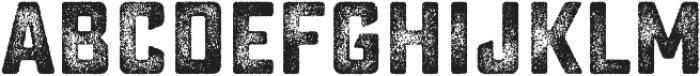 Sucrose Bold Three otf (700) Font UPPERCASE
