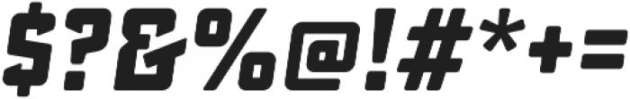 Sucrose Slant Bold otf (700) Font OTHER CHARS